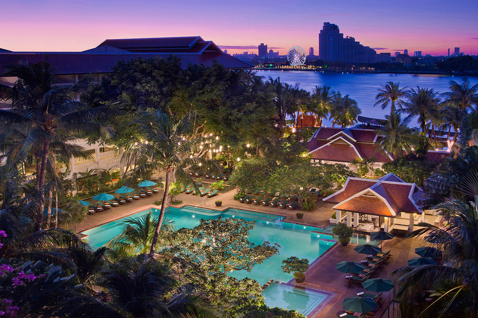 Romantische hotels Thailand - Anantara Riverside Bangkok Resort