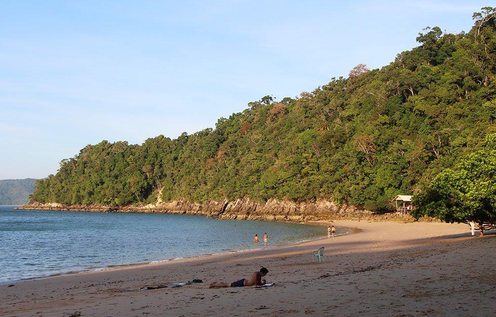 Monkey Beach op Koh Phayam