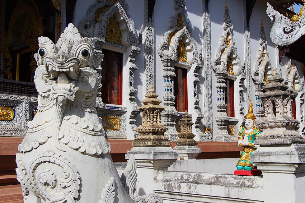 Birma tempel Chiang Mai