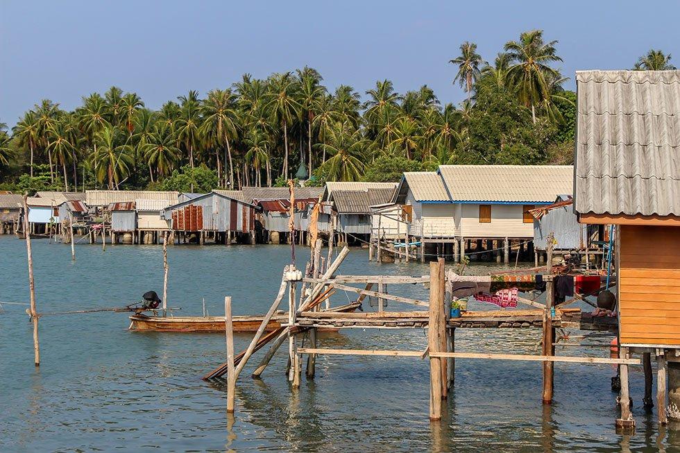 Khao Yao Yai vissersdorpje