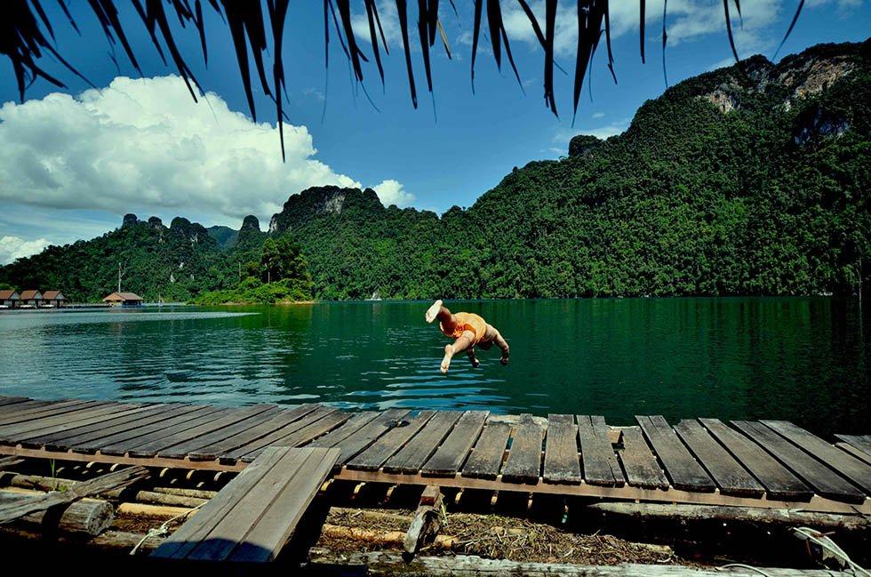 Khao Sok Tours-Duik in het kristalheldere meer