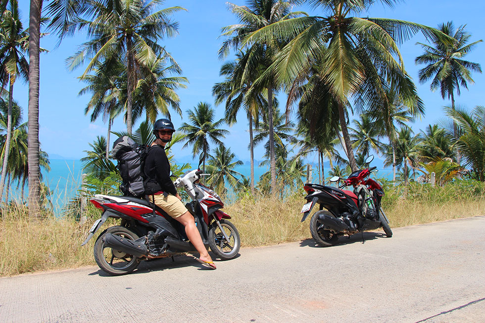 Koh Yao Yai scooter Mariska