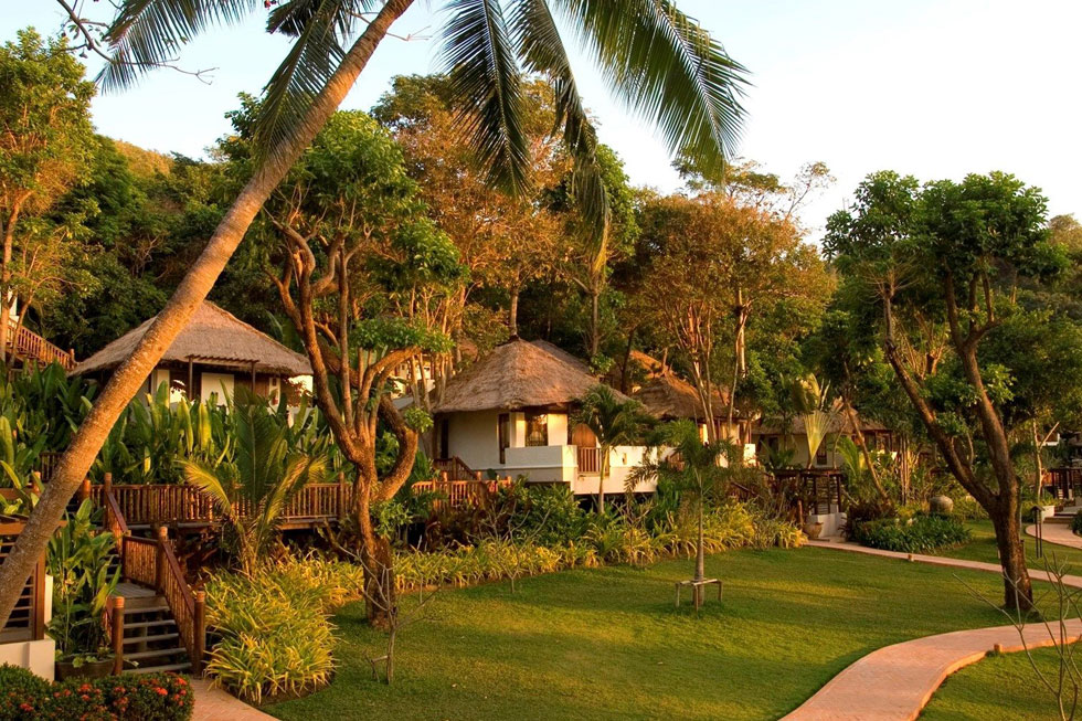 Romantische hotels Thailand - Le Vimarn Cottages & Spa