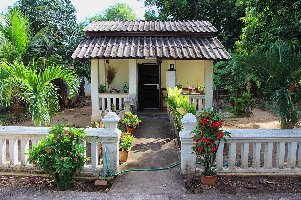 Lepra wijk Chiang Mai