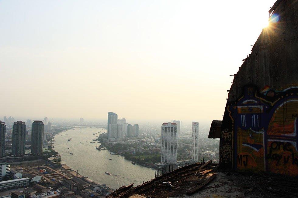Chao Phraya rivier - Bezienswaardigheden Bangkok