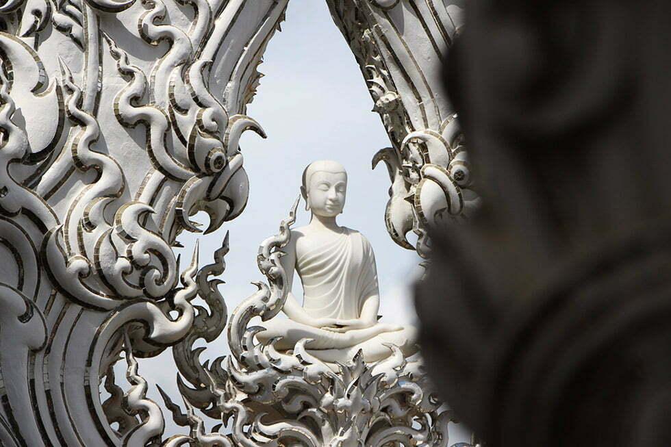 Wat Rong Khun - Witte Boeddha