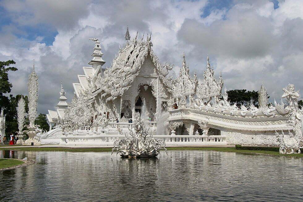 Wat Rong Khun - Witte tempel Chiang Rai