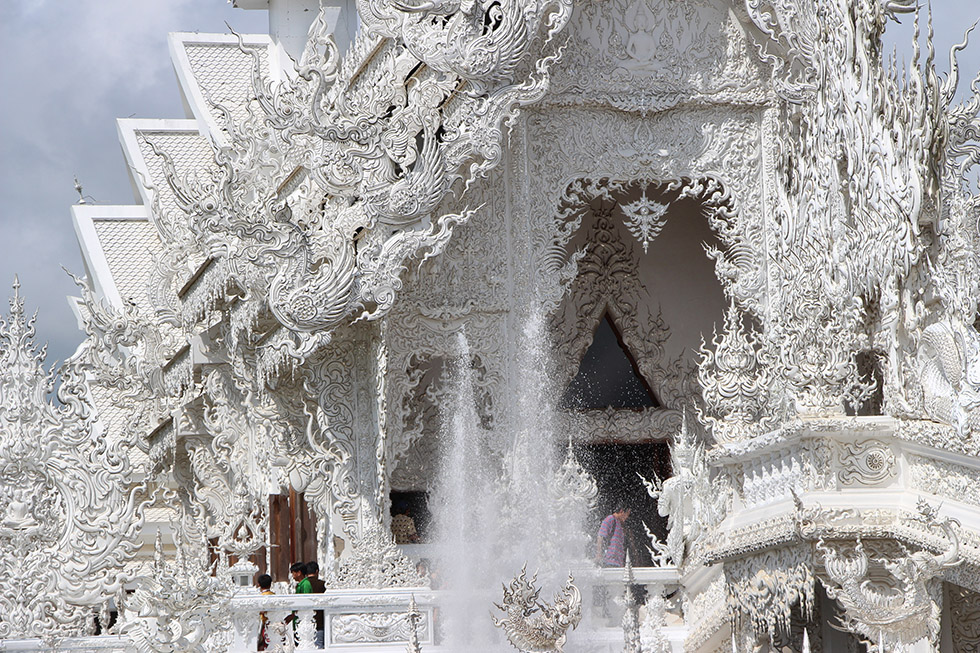 Witte tempel - Wat Rong Khun