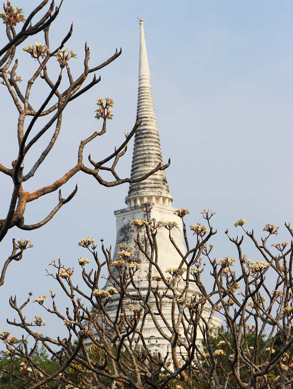 witte toren tempel petchaburi