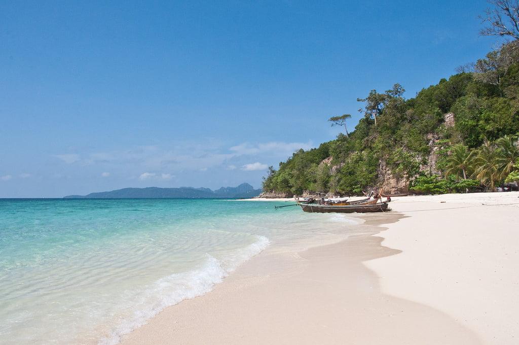 Bamboo Beach - mooiste stranden van Thailand