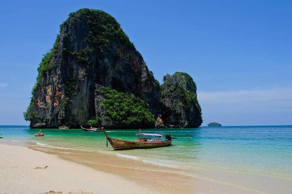 Phra Nang Beach - Mooiste stranden van Thailand