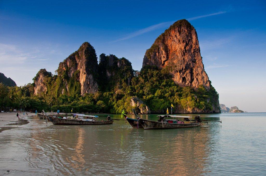 Railay Beach - mooiste stranden van Thailand