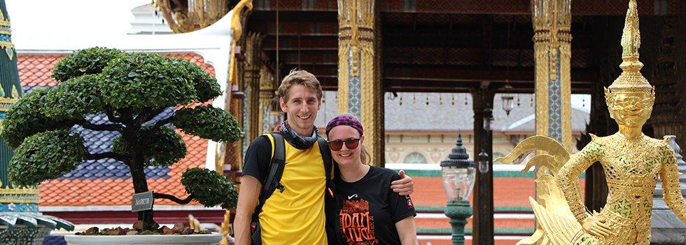 Sander en Mariska in Thailand