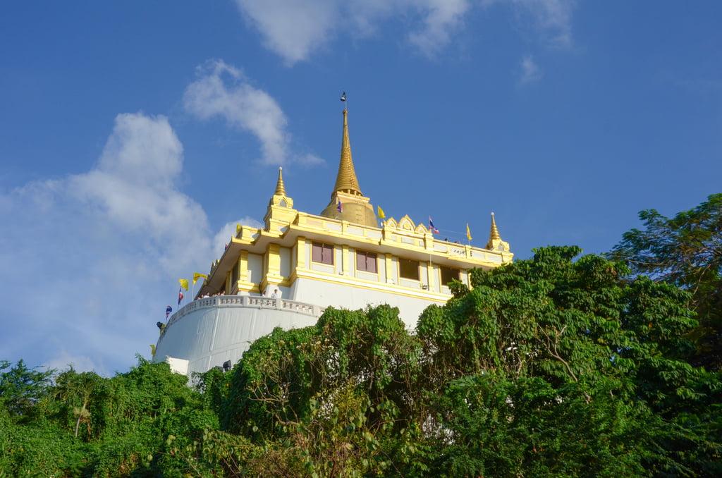De Gouden Berg: Wat Saket - Tempels Bangkok