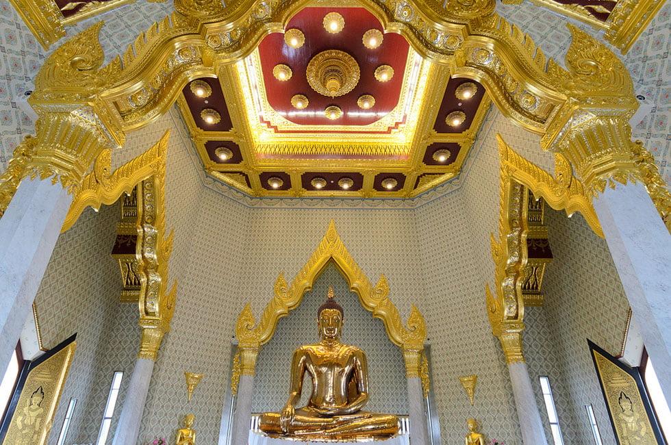 Gouden Boeddha Wat Traimit - Tempels Bangkok