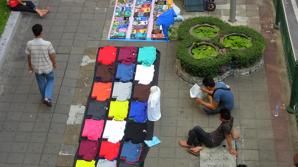 In Bangkok is alles te koop.