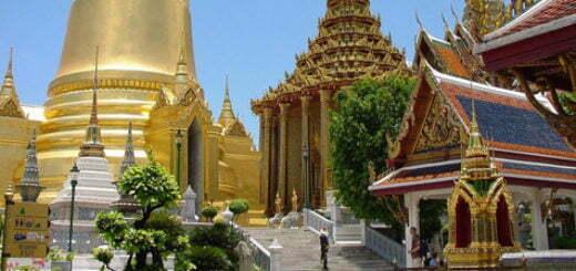 Tempels in Bangok: Wat Phra Kaew