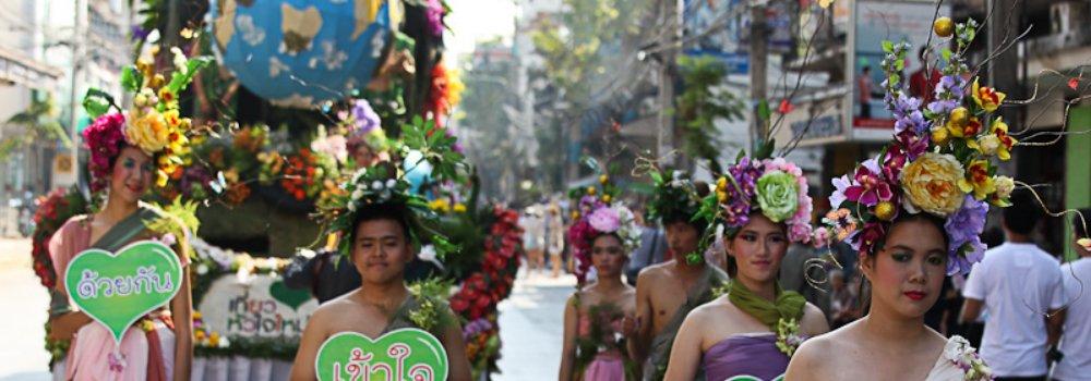 Chiang Mai Flower Festival - Feestdagen Thailand