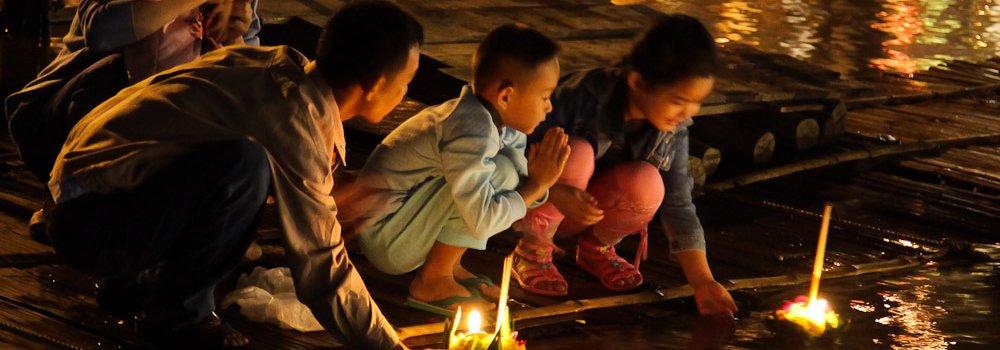 Loy Krathong - Feestdagen Thailand