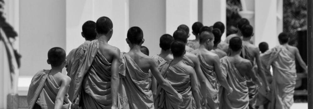 Monniken - Geschiedenis Thailand