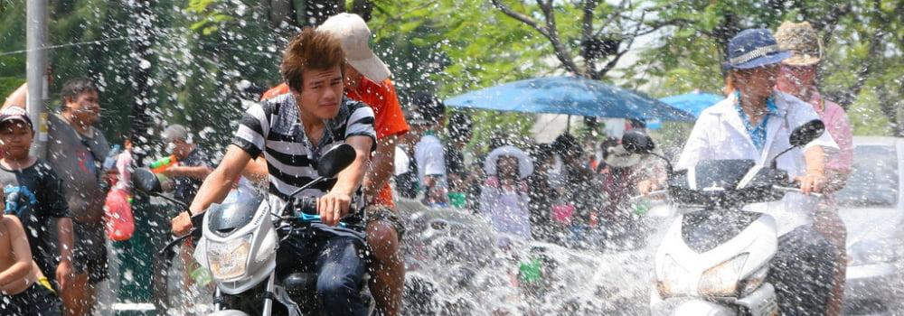 Songkran Thais nieuwjaar - Feestdagen Thailand