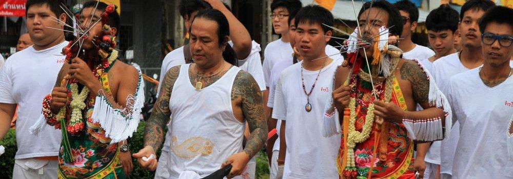 Vegetarisch Festival Phuket - Feestdagen Thailand