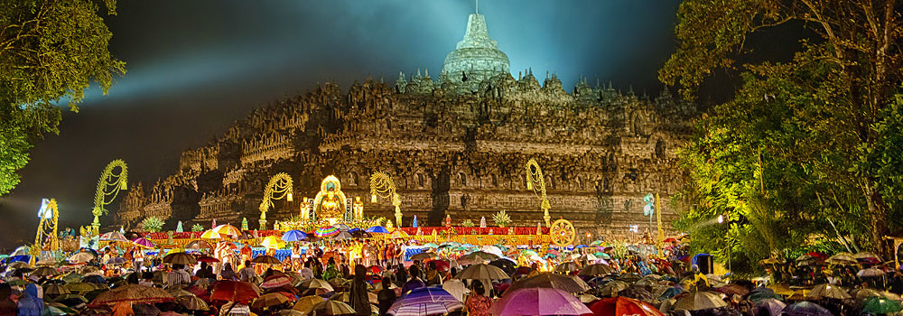 Vesak Visakha Bucha - Feestdagen Thailand