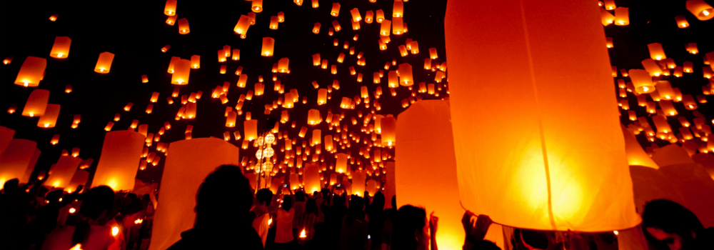 Yee Peng Festival - Feestdagen Thailand