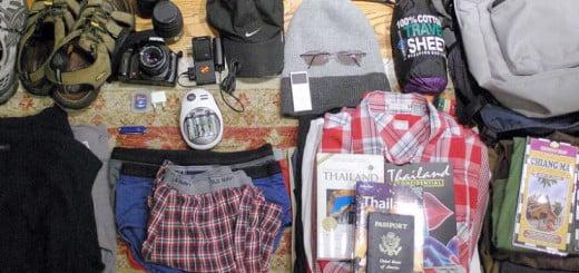 Inhoud backpack