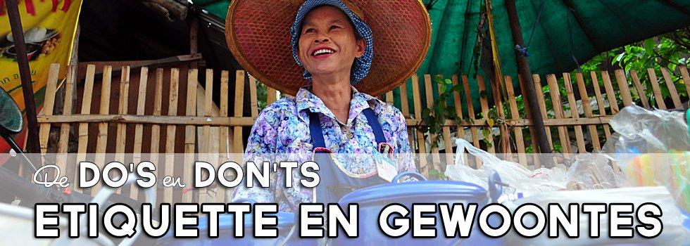 Etiquette Thailand