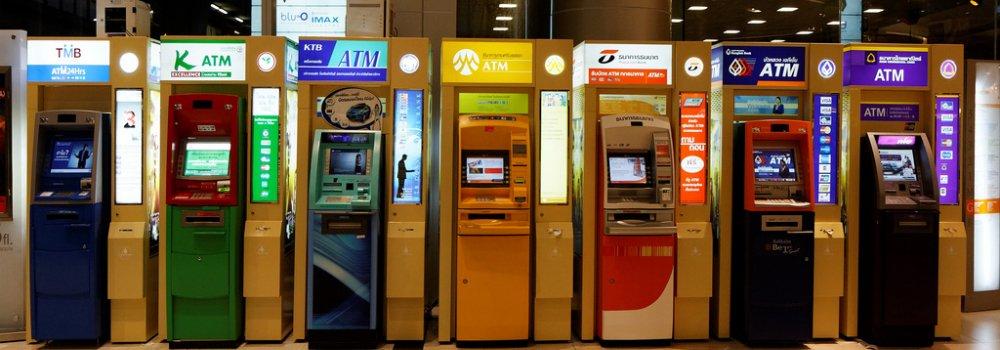 Pinautomaten Thailand