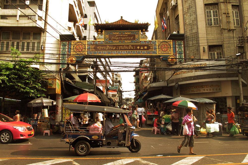 Chinatown Bangkok tuktuk