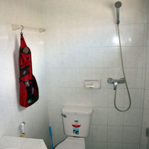 Douche en toilet in één - toilet Thailand