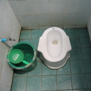 De schepper - toilet Thailand