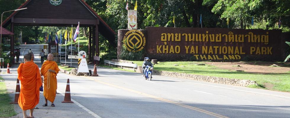 Entree Khao Yai Nationaal Park