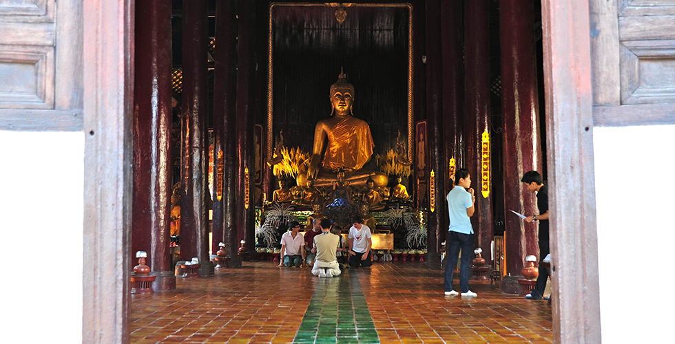 Boeddha Chiang Mai