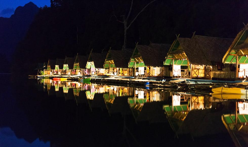 Khao Sok in het donker