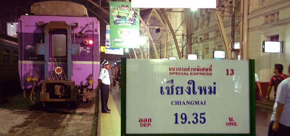 Nachttrein Chiang Mai