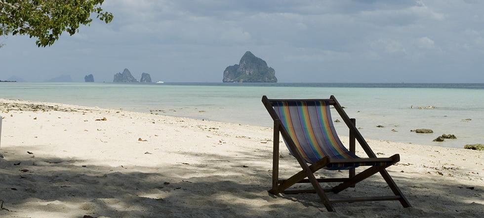 Strand stoel Koh Kradan