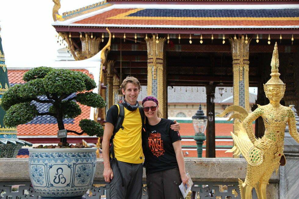 Wat Phra Kaew Sander en Mariska