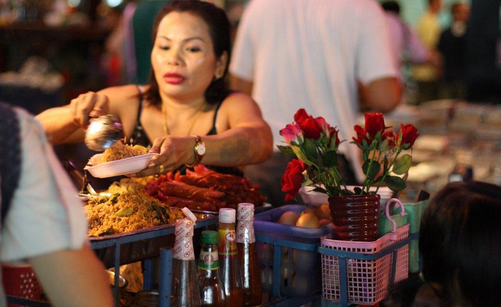 Streetfood: lekker rijst eten