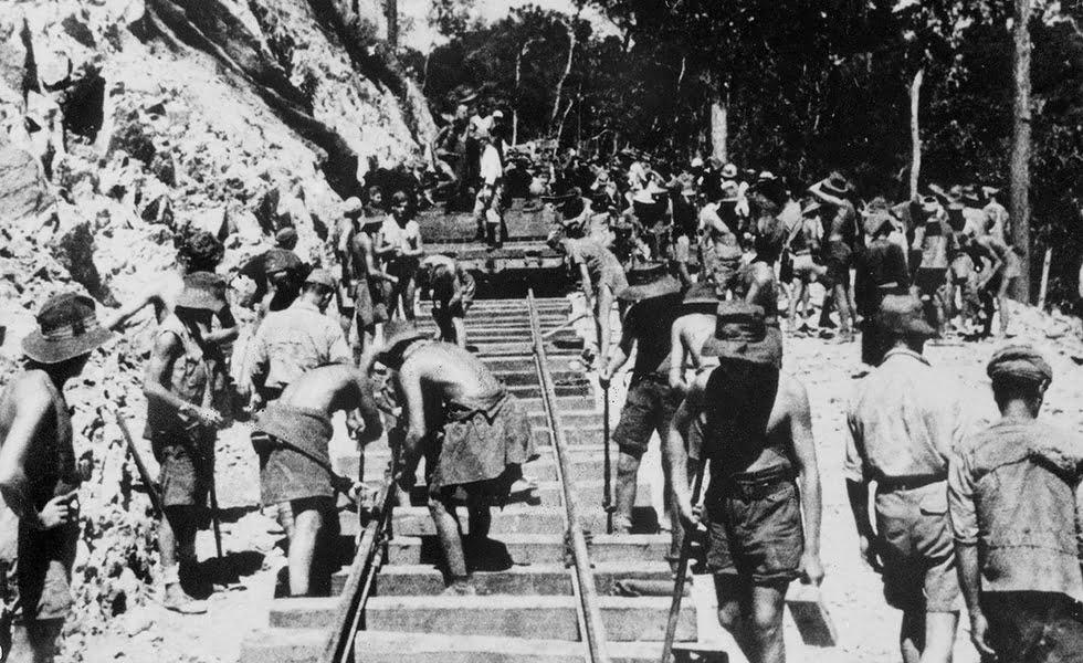 Kanchanaburi - Birma-spoorlijn