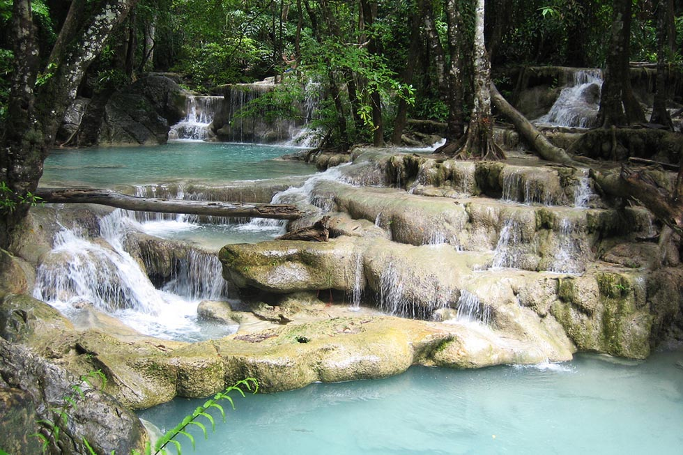 trappen erawan watervallen