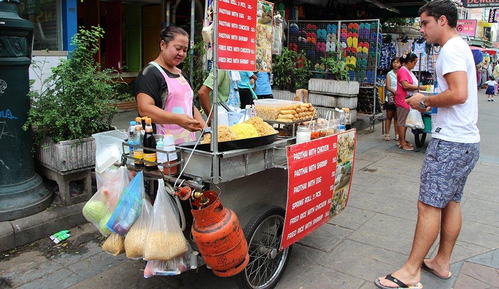 Streetfood Khao San Road. TipsThailand.nl