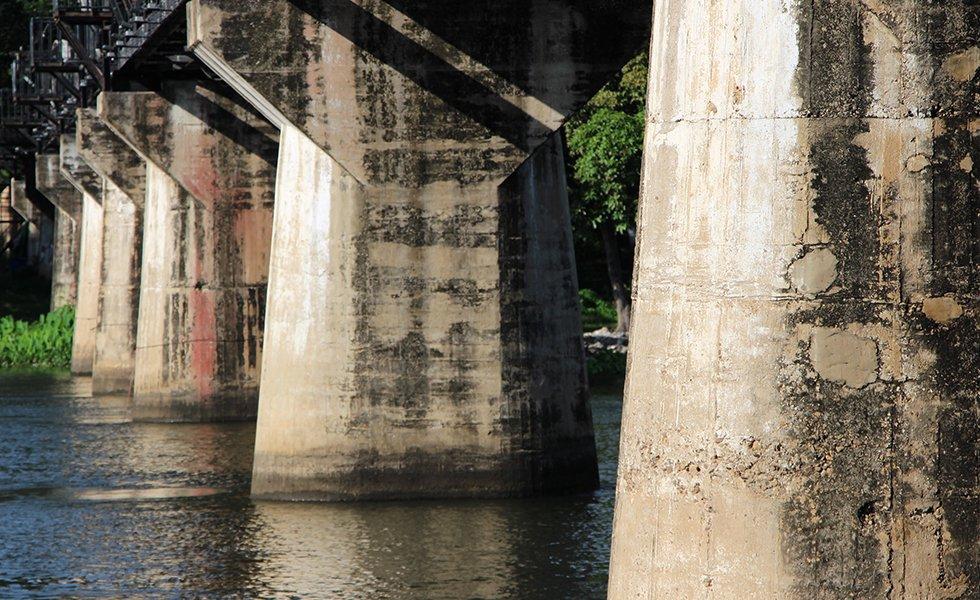 Brug over de river Kwai - Birma-spoorlijn