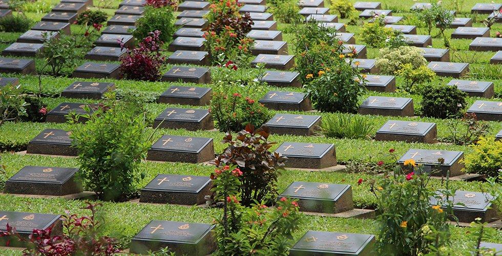 Oorlogsbegraafplaats Kanchanaburi - Birma-spoorlijn