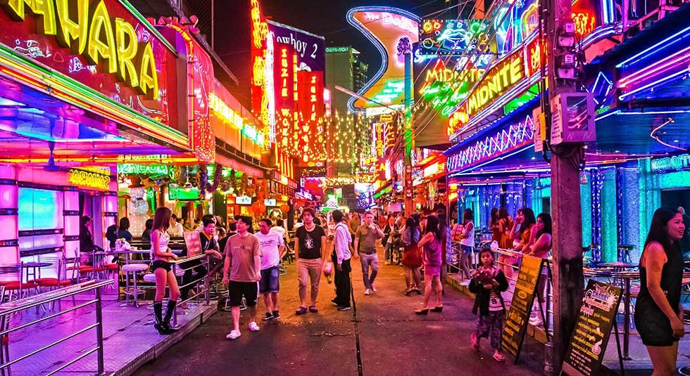 Rosse buurt van Bangkok: Soi Cowboy