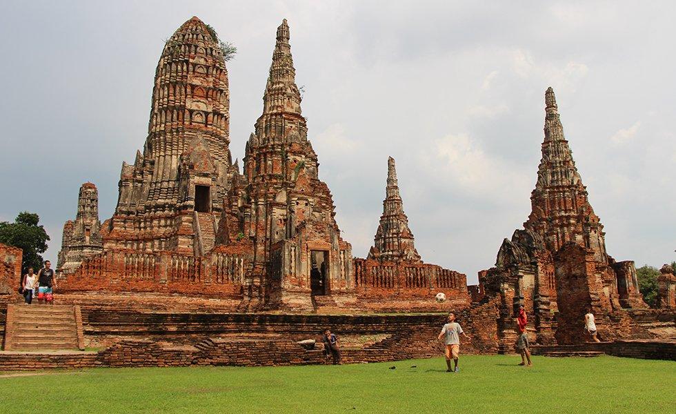Wat Chai Watthanaram II - Ayutthaya bezienswaardigheden
