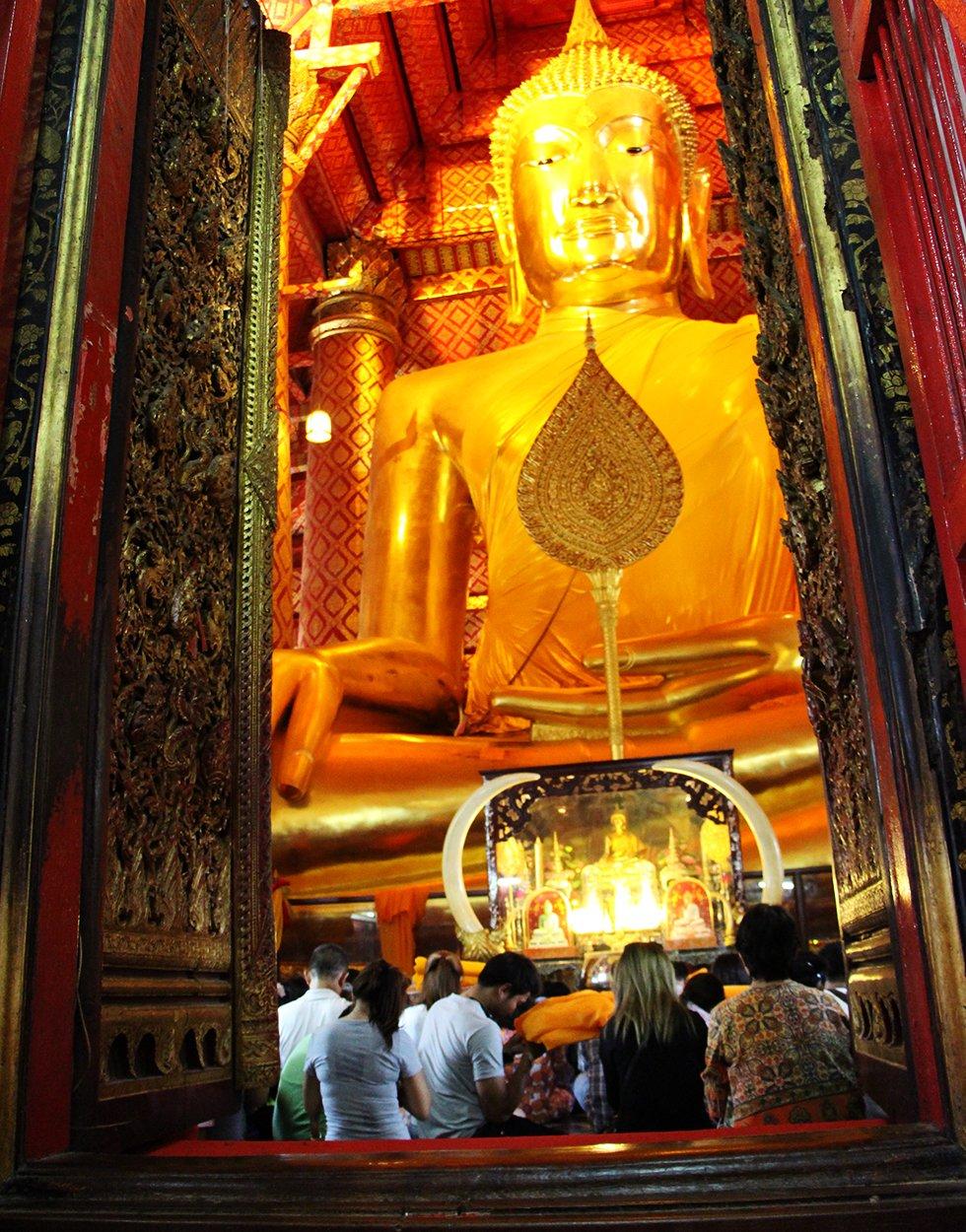 Wat Phanan Choeng - Ayutthaya bezienswaardigheden