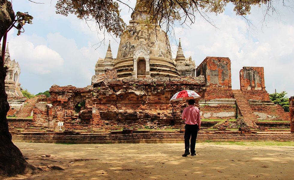 Wat Phra Si Sanphet I - Ayutthaya bezienswaardigheden